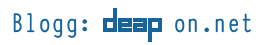 Blogg: deap on .net